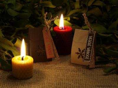Dárkové vánoční mýdélko | Mýdlárna Made by Kiki